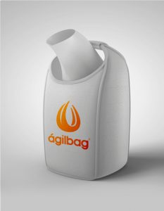 big bag reciclável gota