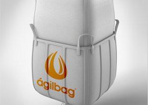 big bag travado ou contentor flexível
